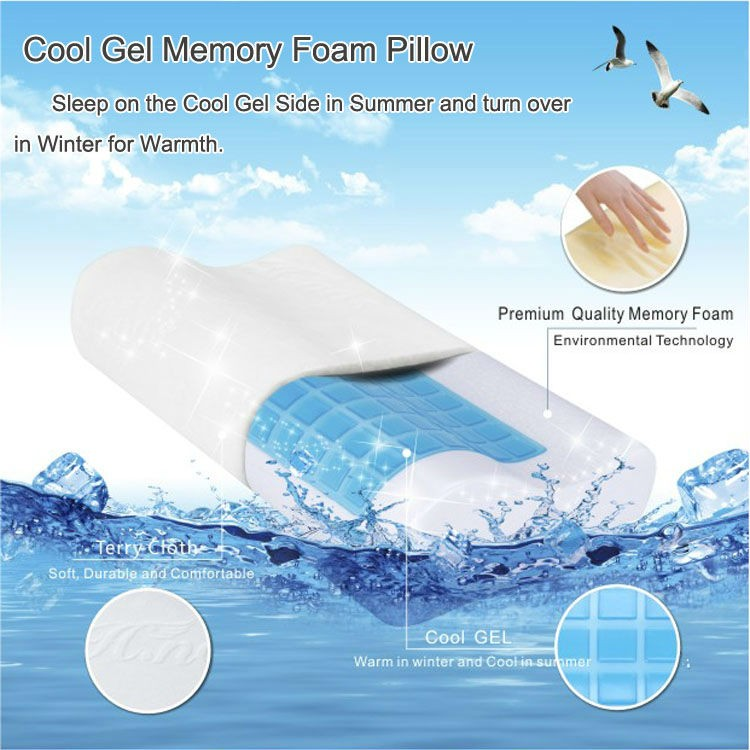 High Quality Custom Oem Silicone Pillow Ice Cooling Gel