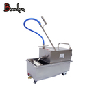 Heavy duty deep fryer oil filter / cooking oil filter machine