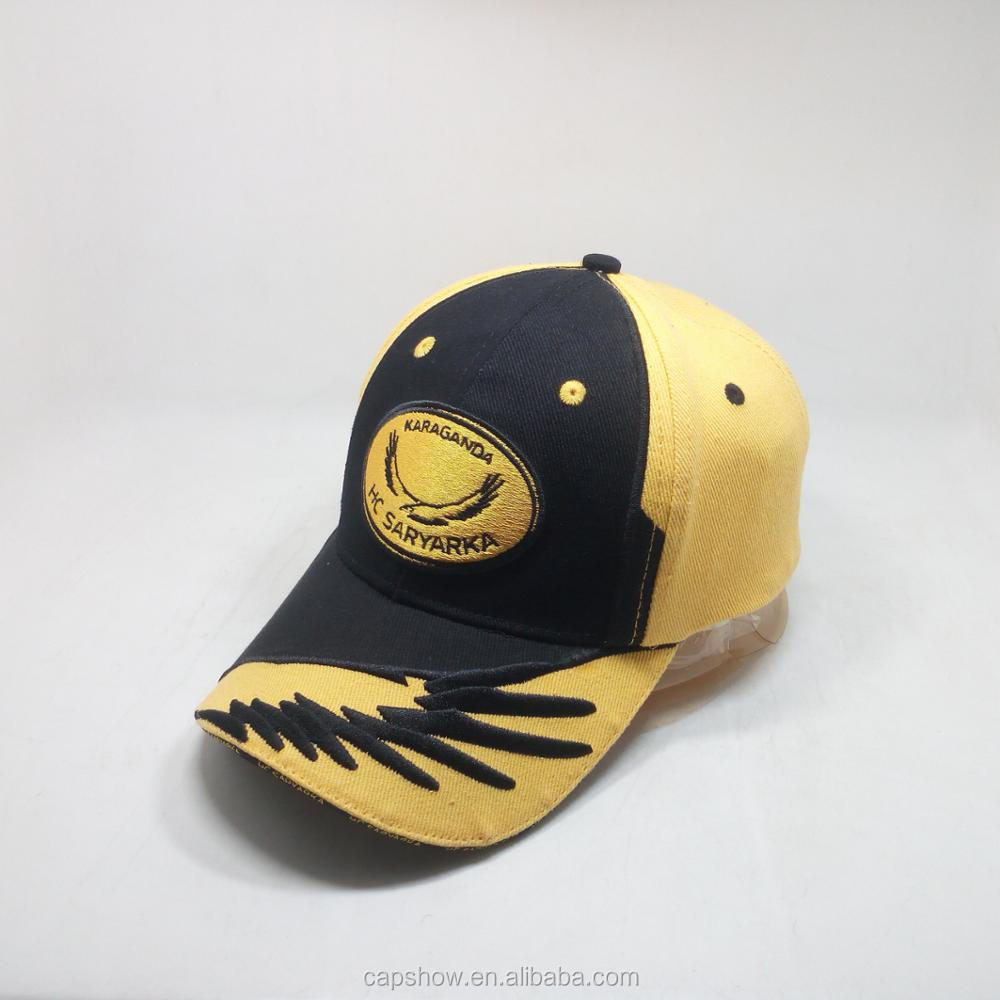 Custom Heavy Brushed Cotton Baseball Cap And Sport Hat With Embroidery