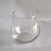 Crystal Clear Glass Tumbler Fine Champagne Cognac Glass