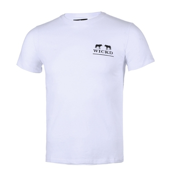 Wholesale screen printing white t shirt unisex fashion 100% cotton custom tshirt with logo printing