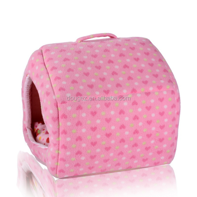 Professional Manufacture best selling cute cheap soft plush pet bed /house for dogs