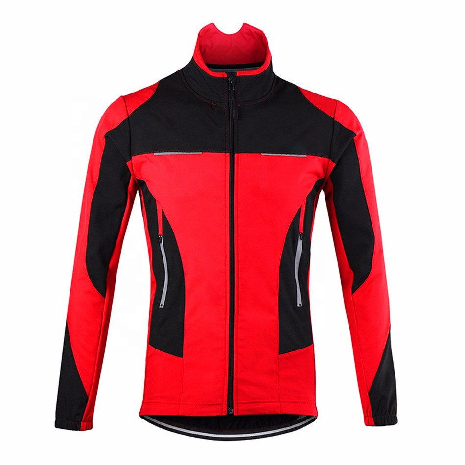 High Quality Sublimation OEM Team Name Breathable Windproof Bike Clothes Long Sleeves Cycling  Jacket