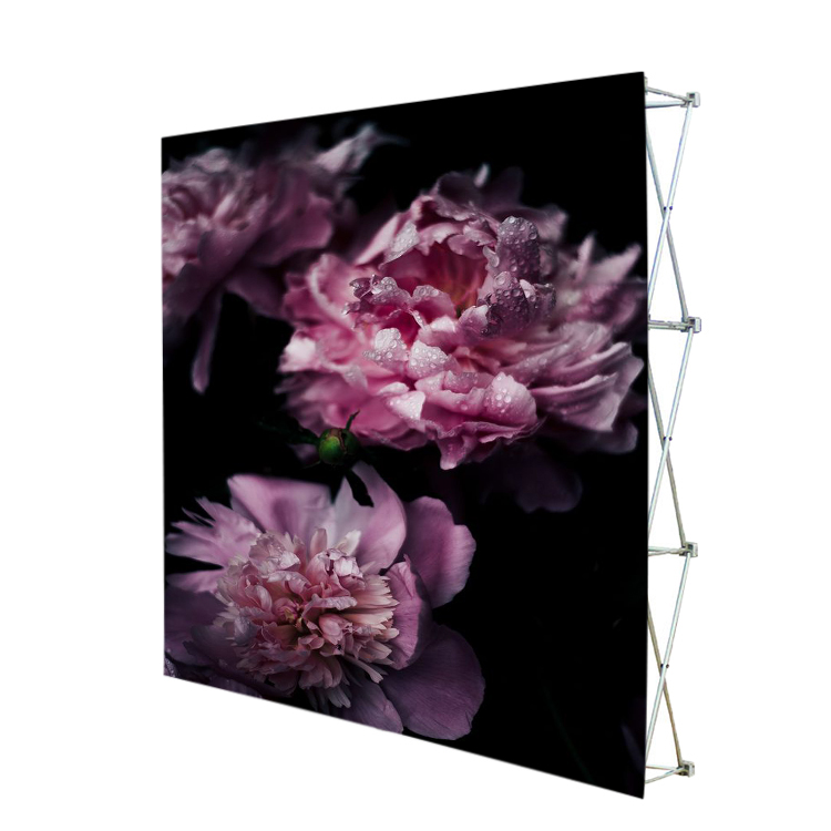 Manufacturer Portable Fabric Pop Up Display Wall Backdrop Wall