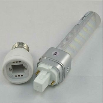 E27 To G24 Lamp Base Adapter Converter Forled/halogen/cfl Light ...