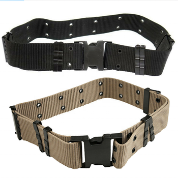 Wholesale Heavy Duty Plastic Buckle Kombat Quick-release Belt British Army Style Combat Security Tactical Forces