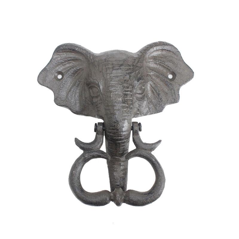 Cast Iron Rust Elephant Decorative Door Knockers Buy Cast Iron Door Knocker Animal Door Knocker Rust Door Knocker Product On Alibaba Com