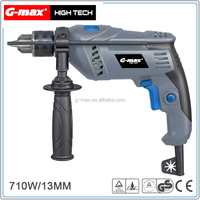 G-max 710W Electric Hand Impact Drill Z1J 13mm GT12215