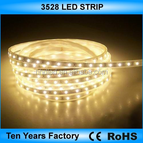 Ultra brightness 12v 3528 led flexible strip lighting
