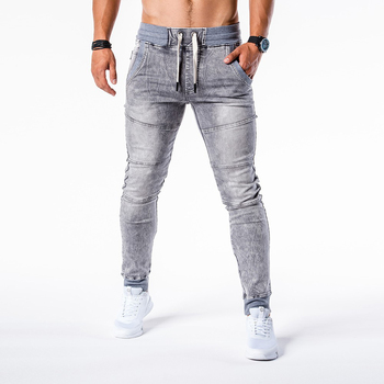 patchwork jeans mens