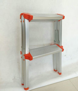 A Style Foldable Safety 2 Step Ladder Used For Kitchen