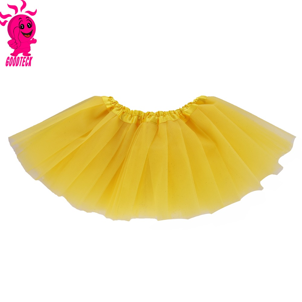 Gadis Bulu Pettiskirt Ulang Tahun Tutu Gaun Lapisan Ganda Super Penuh Gowns Party Dress