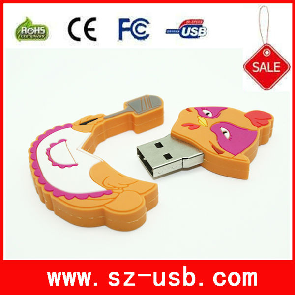 Cute Hen usb flash drives 8gb to 128gb