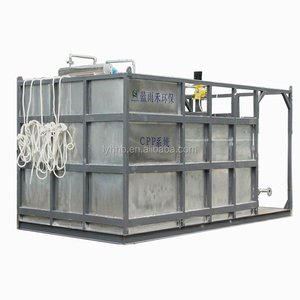 High Quality Containerized Sewage Treatment uses MBR membrane