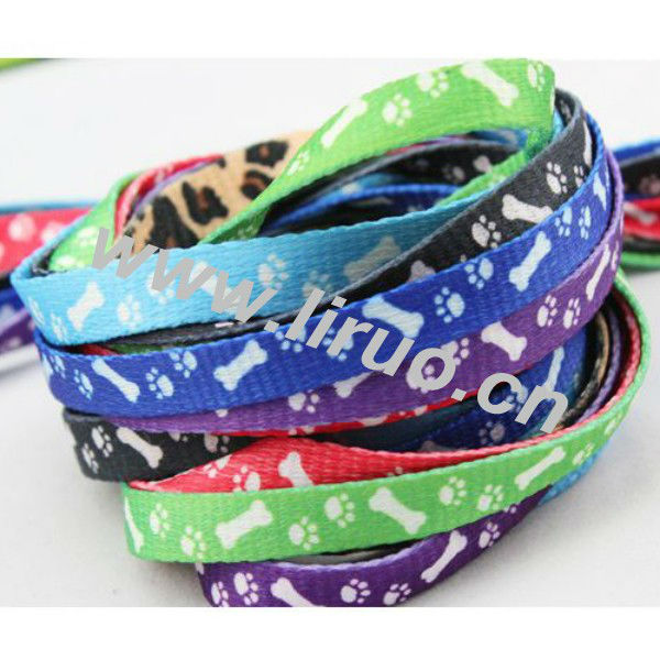 Custom print nylon dog lead