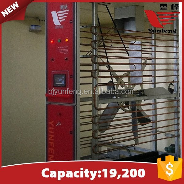YFDF-19200 high quality automatic Single-Stage chicken egg incubators sale