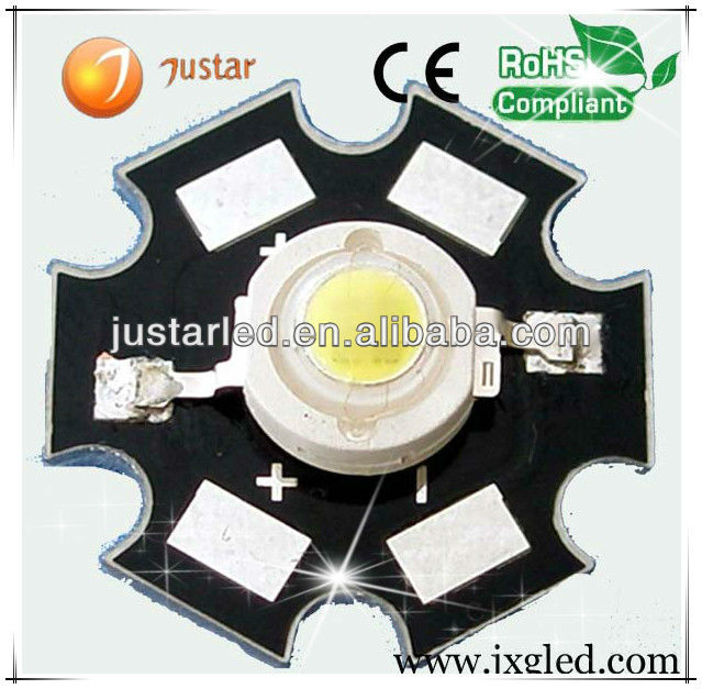 High power led bridgelux chip 5w batterij aangedreven fabrikanten