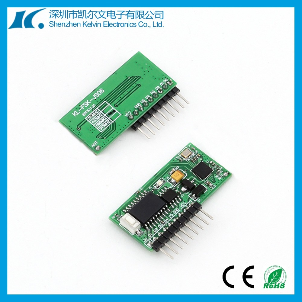 DC5V 6 Channel 868MHz RF transmitter and receiver KL-TF06