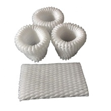 China factory packaging tubular net fruit foam sleeves mesh wrap