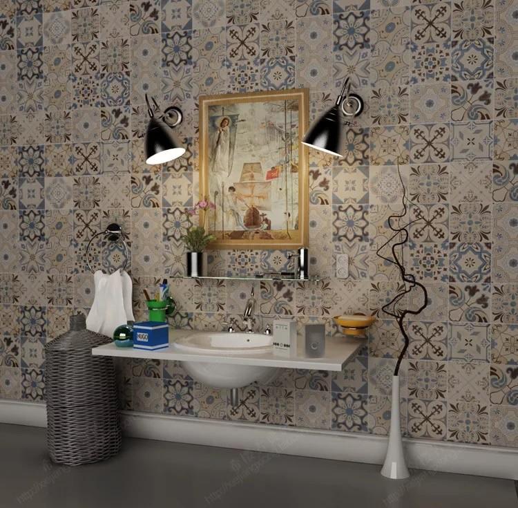 Décoration Marocaine Carreaux De Ciment,Pas Cher Salle De Bain Carrelage  Rustique Design 600x600 - Buy Carreaux De Ciment,Carreaux De Ciment ...