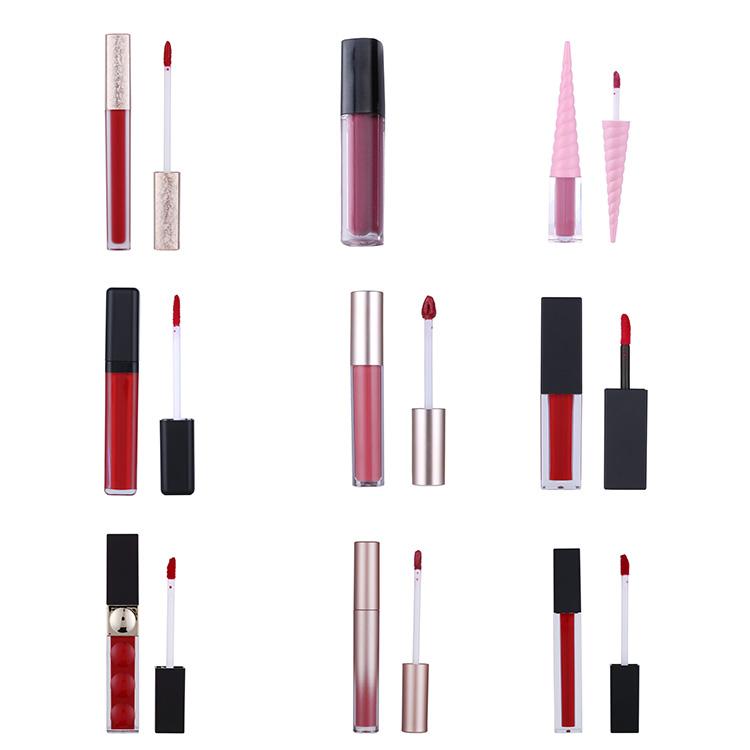 Großhandel 15 Farben Goldene Rose Lip Gloss Kinder Private Label Glitter Klar Lip Gloss