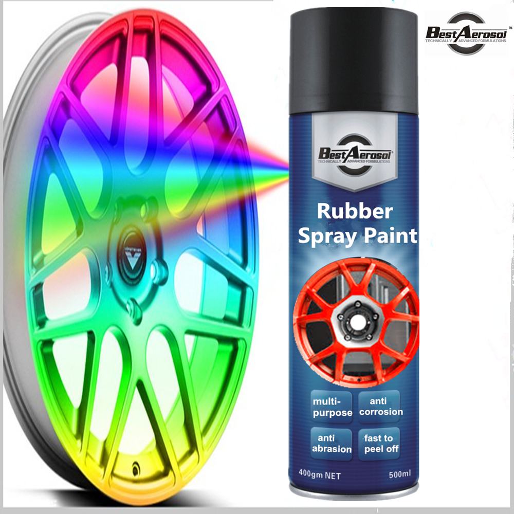 silicone spray paint