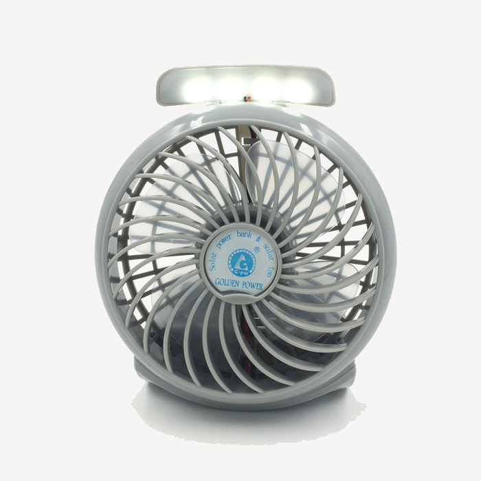 2016 Specialized production 5V portable mini fan rechargeable portable solar fan