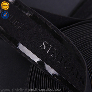 Sinicline hot selling custom fashion black background printed grosgrain ribbon