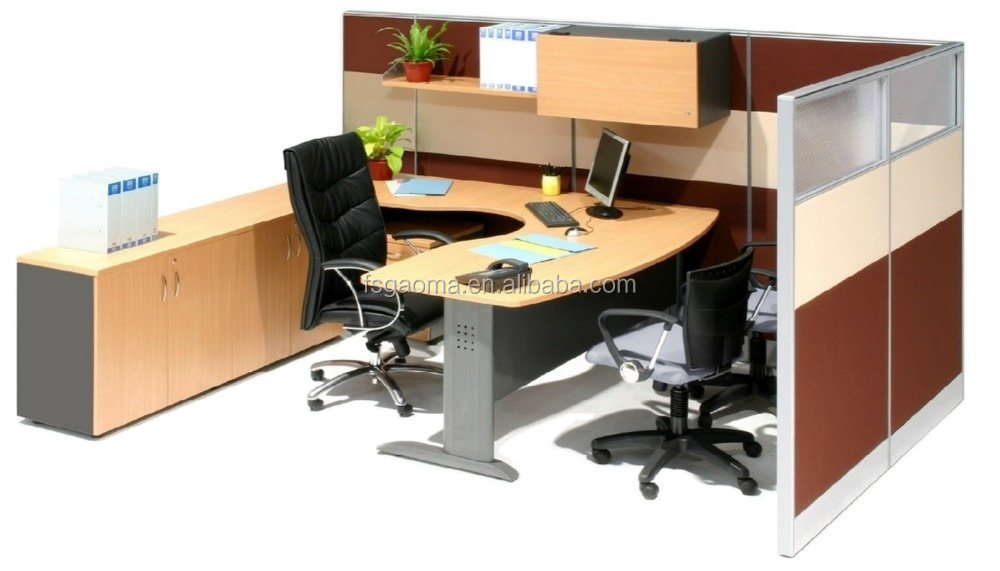 U30 30mm T cross shape office partition workstation system