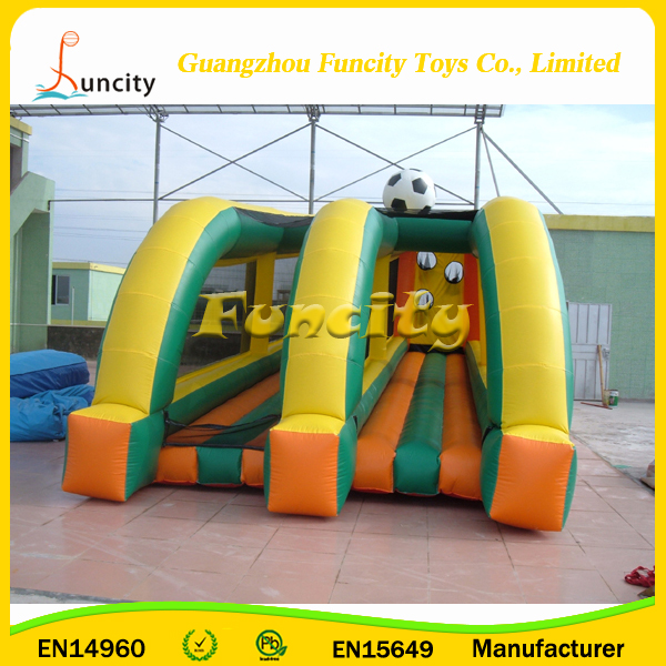 Customized Logo Inflatable Basketball Hoop Field,Double Lane Basketball Shot Game