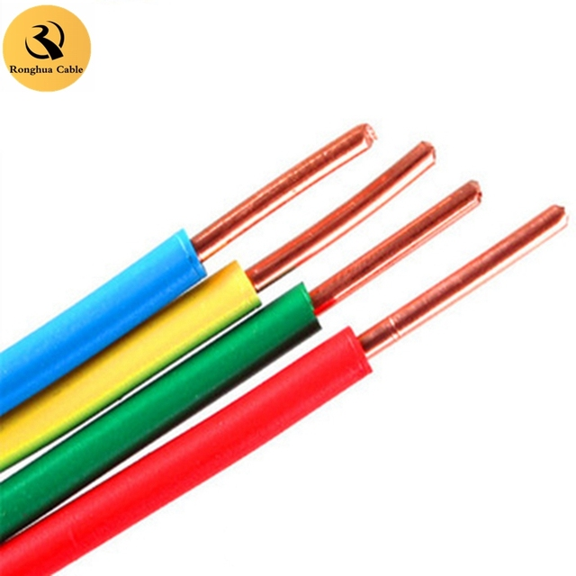 PVC Copper Aluminum Insulated Electrical Wire Cable