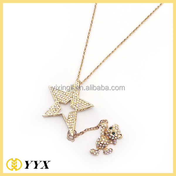 tube gold designer chains simple necklace wholesale classic chain design pendant yiwuproducts
