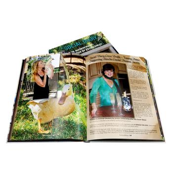 Custom full color well designed book printing service