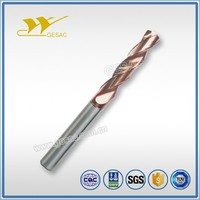 3D External Coolant Carbide Coated Twist Drill for Cast Iron Machining