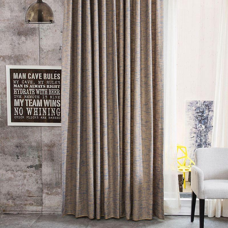 Cortinas cortina chenilla cortina elegante diseño de la bandera ...