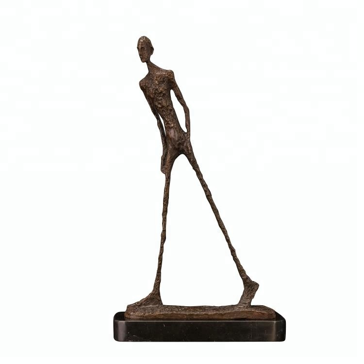 Profissional escultura de arte moderna decoração abstrata humana