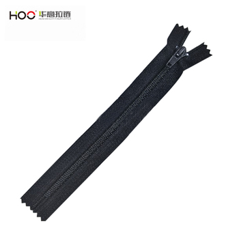 7# nylon zipper C/E for shoes