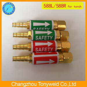 welding torch safety valve Flashback arrestor 588L 588R