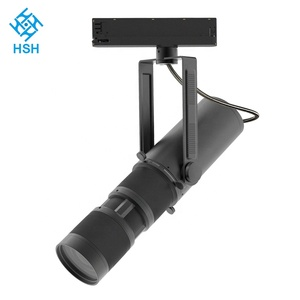 Professional manufacturer museum image lighting 30w 240v cob led track light
