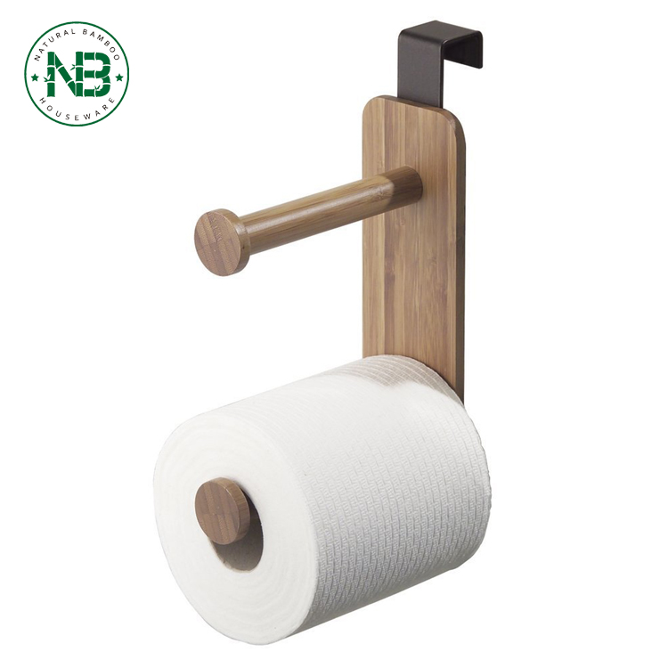 Toilet Paper Holder For Bathroom Storageover The Tank Bamboo