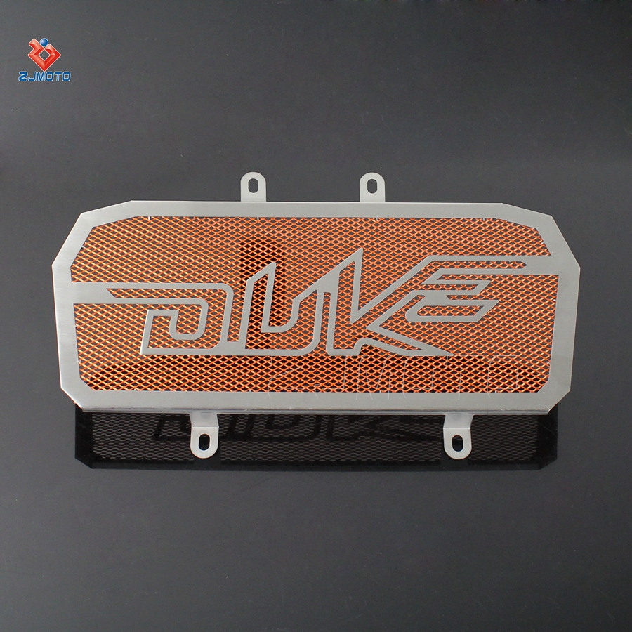 Stainless Steel Radiator Bezel Guard Cover Grill Protector For KTM DUKE 390 2013-2015 Motorcycle