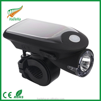 Inbike Bike Accessories USB Rechargeable Bike Light Bicycle solar Front Light