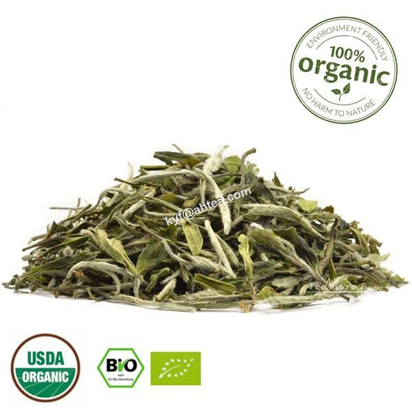 Bio 100% Pure Organic Nature White Tea Pai Mu Tan(White Peony) Special Grade