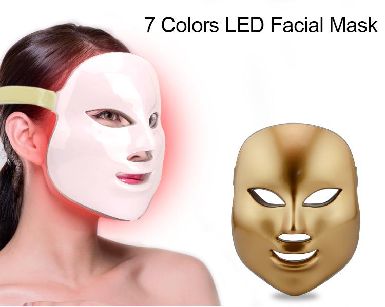 2018 novos produtos levou terapia facial máscara de beleza do cuidado da pele e reduzir as rugas e linhas finas
