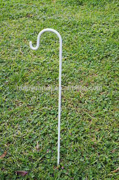 Single Metal Garden Shepherd Hooks