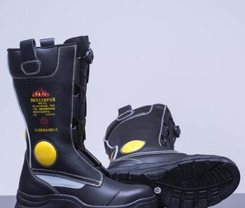 100b46ad42b New leather firefighter boots leather work boots, View leather work boots,  LUSHAN /OEM Product Details from Jiujiang Fire Fighting Equipment Co., Ltd.  ...