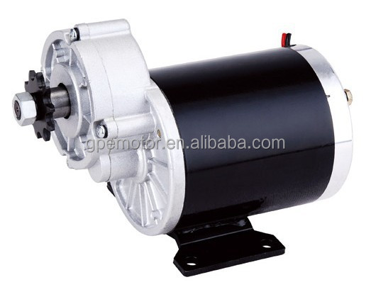 Electric DC Gear Motor For Sliding Gate Wiper Window Golf Carts Elevator Bike Bicycle Scooter Wheel Car Wheelchair Hub Used