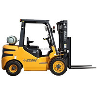 china gasoline forklift trucks with nissan k25 engine