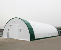 5010025R Double Truss Frame Agricultural Big Dome Warehouse Storage Building