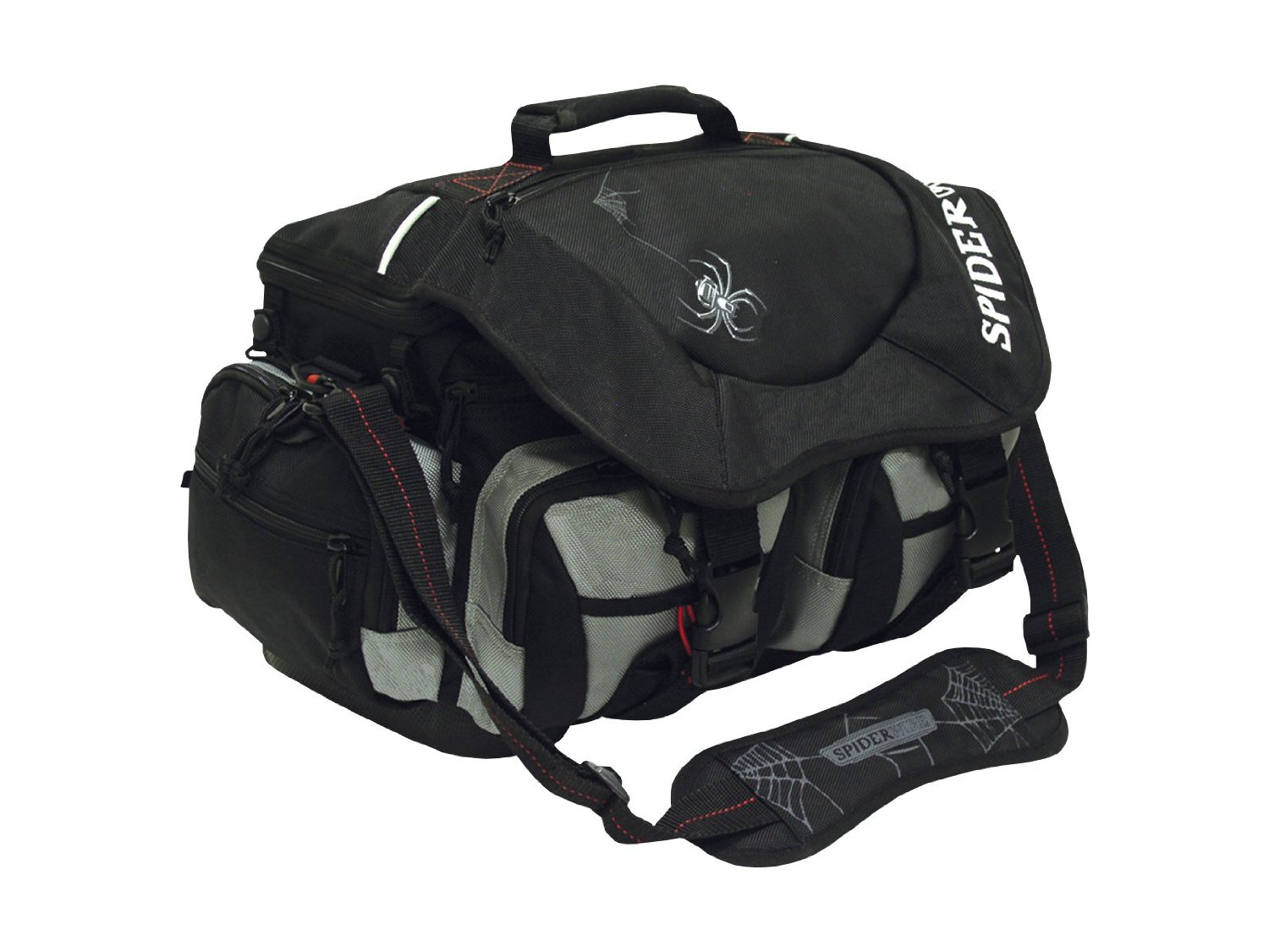 Spiderwire Wolf Tackle Bag Black